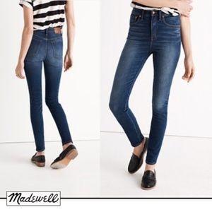 Madewell Rivet & Thread Extra High Skinny Topanga